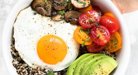 Healthy breakfast dishes/recipes