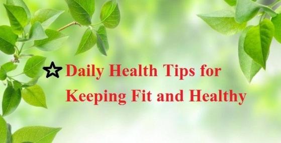 Daily Health Tips