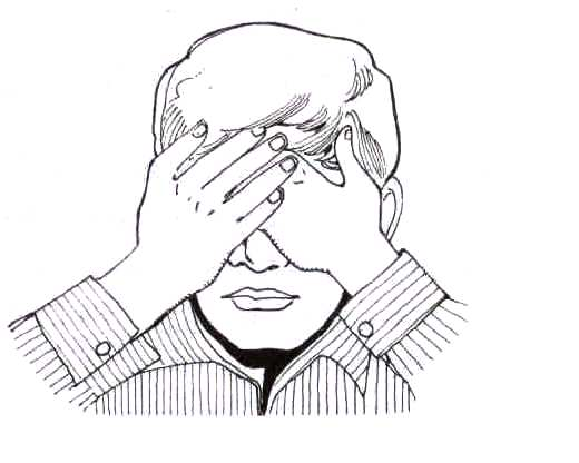 हथेलियों से आंखें ढंकना (Eye health tips in hindi))