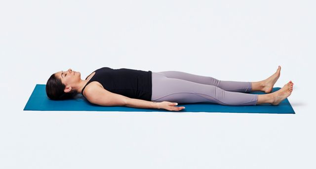 Shavasana in Hindi