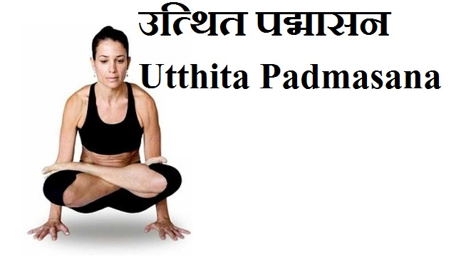 उत्थित पद्मासन Utthita Padmasana