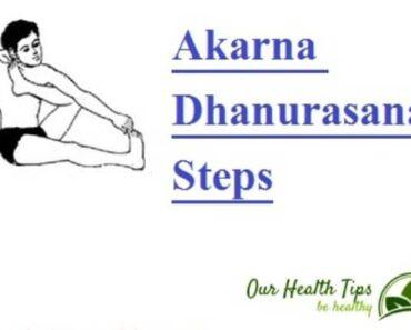 आकर्ण धनुरासन | Akarna Dhanurasana