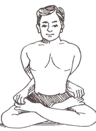 Baddha Padmasana Yoga Mudra Steps