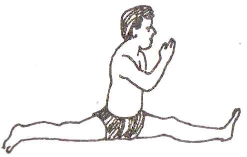 हनुमान आसन की विधि | Hanuman Asana Steps