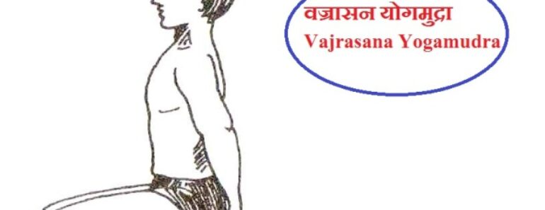 वज्रासन योगमुद्रा | Vajrasana Yogamudra