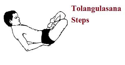 Tolangulasana steps