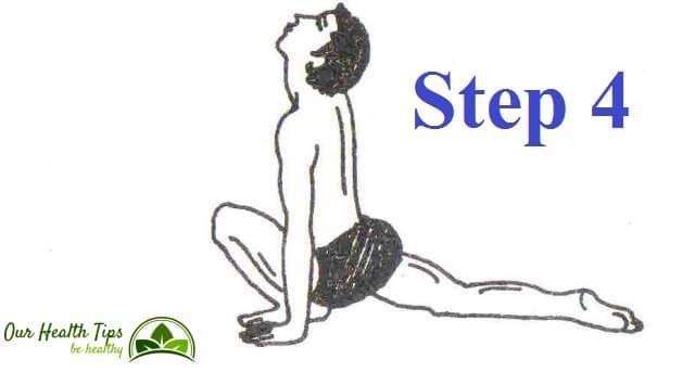 Surya Namaskar Step 4